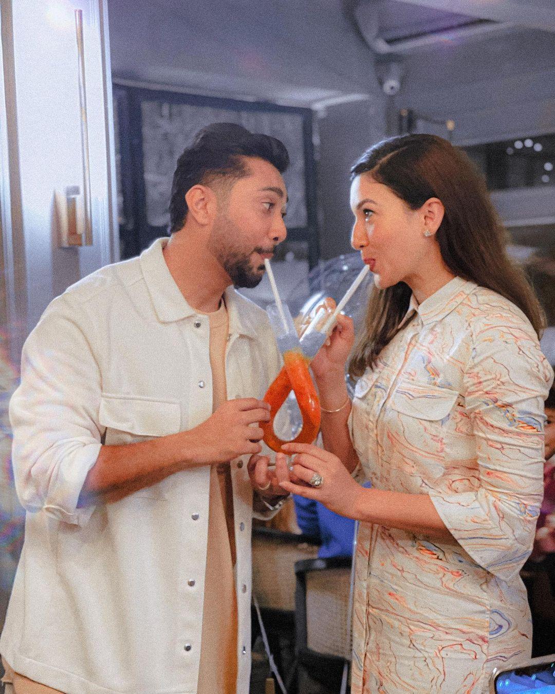 gauahar khan with husband