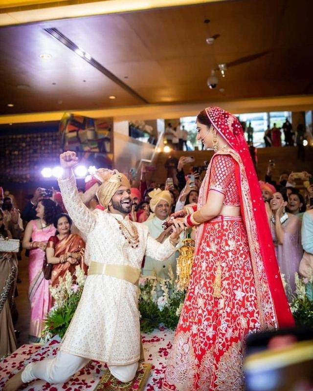 disha parmar and rahul vaidya wedding