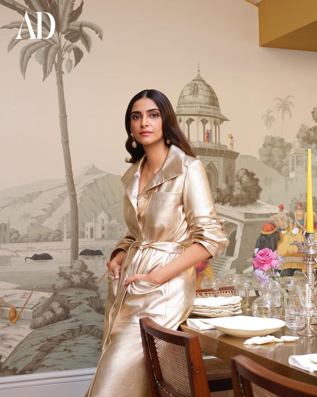 Sonam Kapoor In Her Landon House