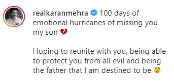 karan mehra latest post