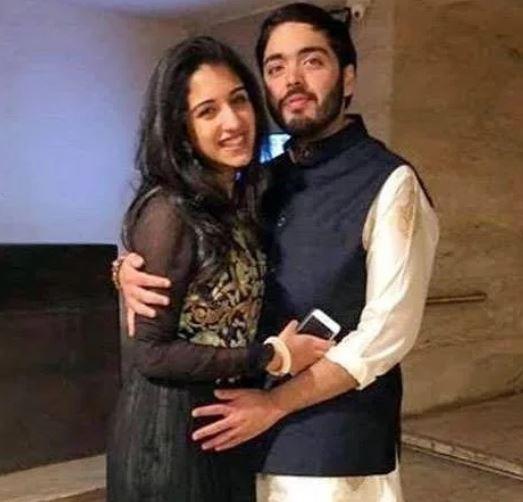 Anant Ambani With Girlfriend Radhika Merchant