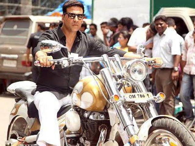 Akshay Kumar's Harley Davidson Bike