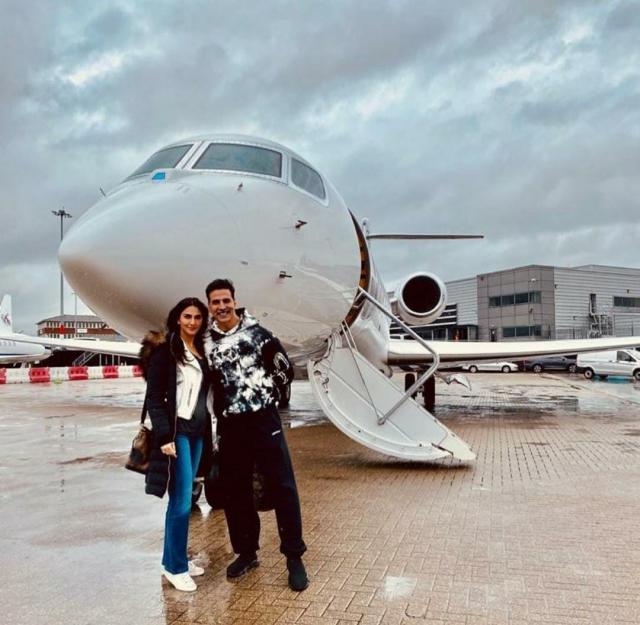 Akshay Kumar's Private Jet