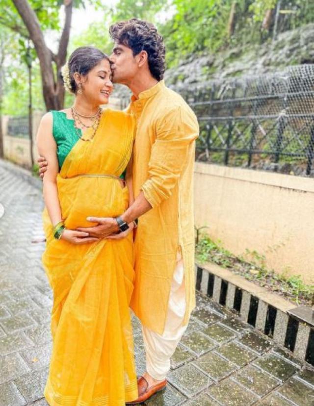 ankit mohan and ruchi savarn pregnancy