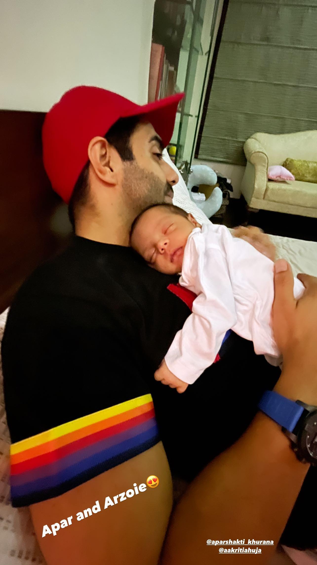Aparshakti Khurana baby