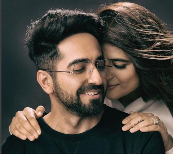 ayushmann khurrana with his wife