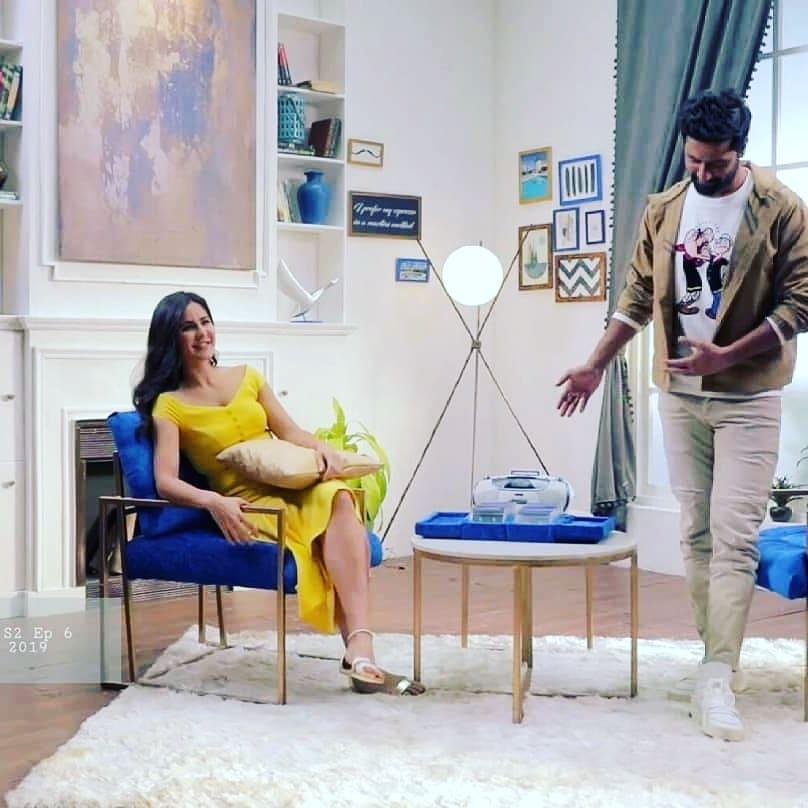 Vicky Kaushal With Katrina Kaif