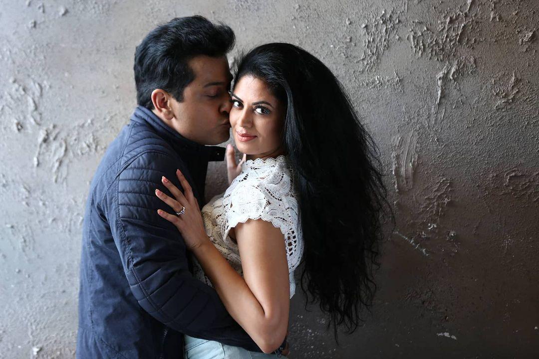 Kavita Kaushik With Her Husband Ronnit Biswas