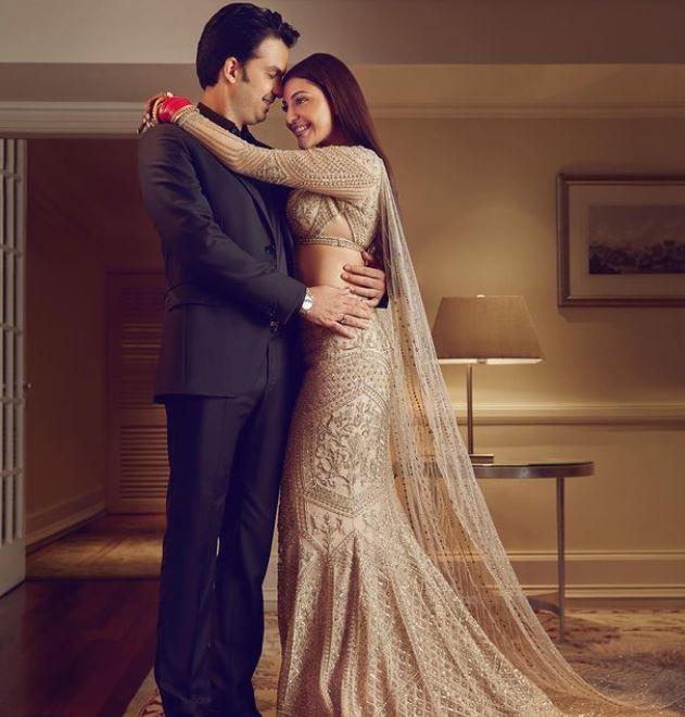 Kajal Aggarwal With Her Husband Gautam Kitchlu