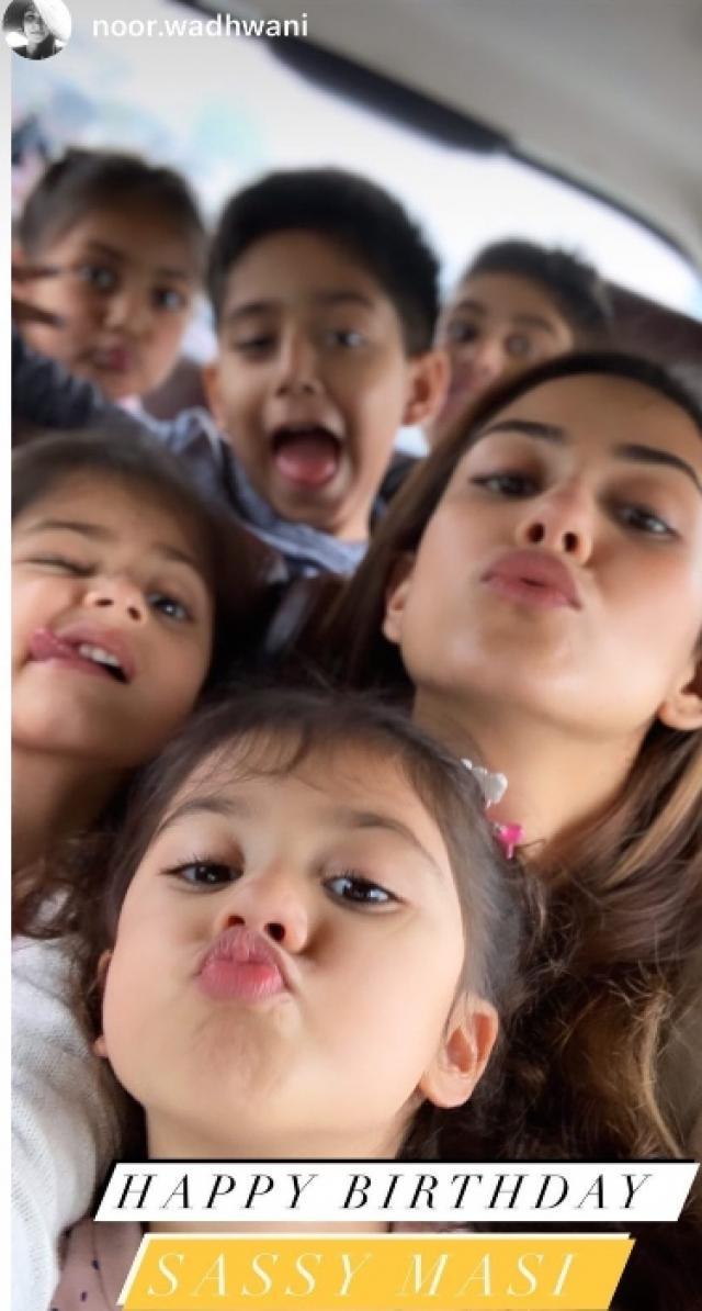 mira kapoor with daughter