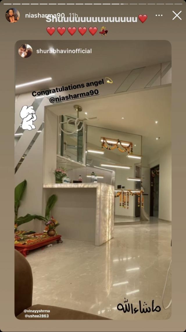 Nia Sharma' New House