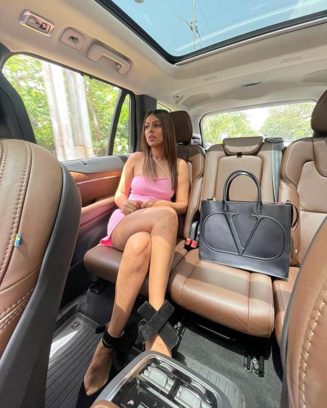 Nia Sharma's Luxurious Bag