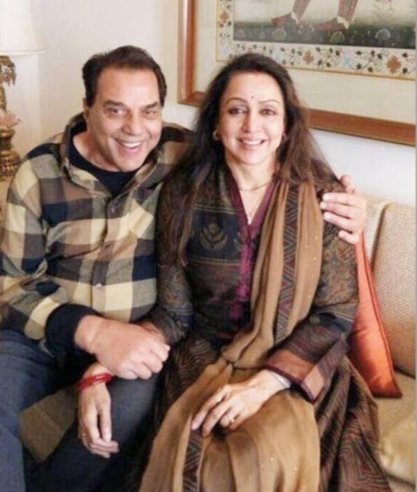 Hema And Dharmendra