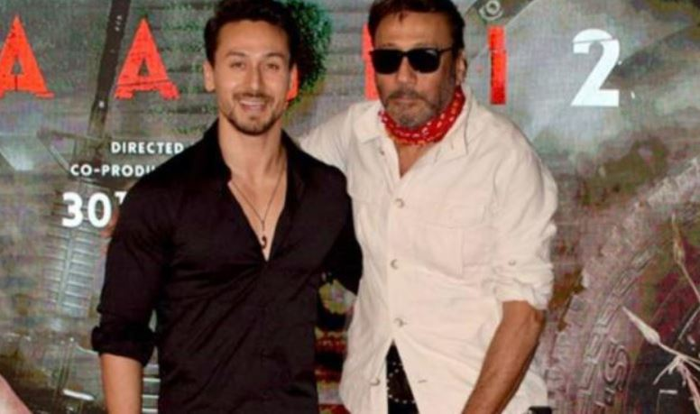 Tiger Shroff With His Father Jackie