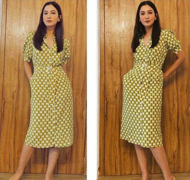 gauhar khan dress