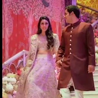 Akash Ambani's Engagement With Shloka Mehta