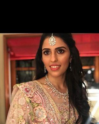 Shloka Mehta' engagement look