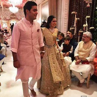 Akash Ambani And Shloka Ambani's Engagement