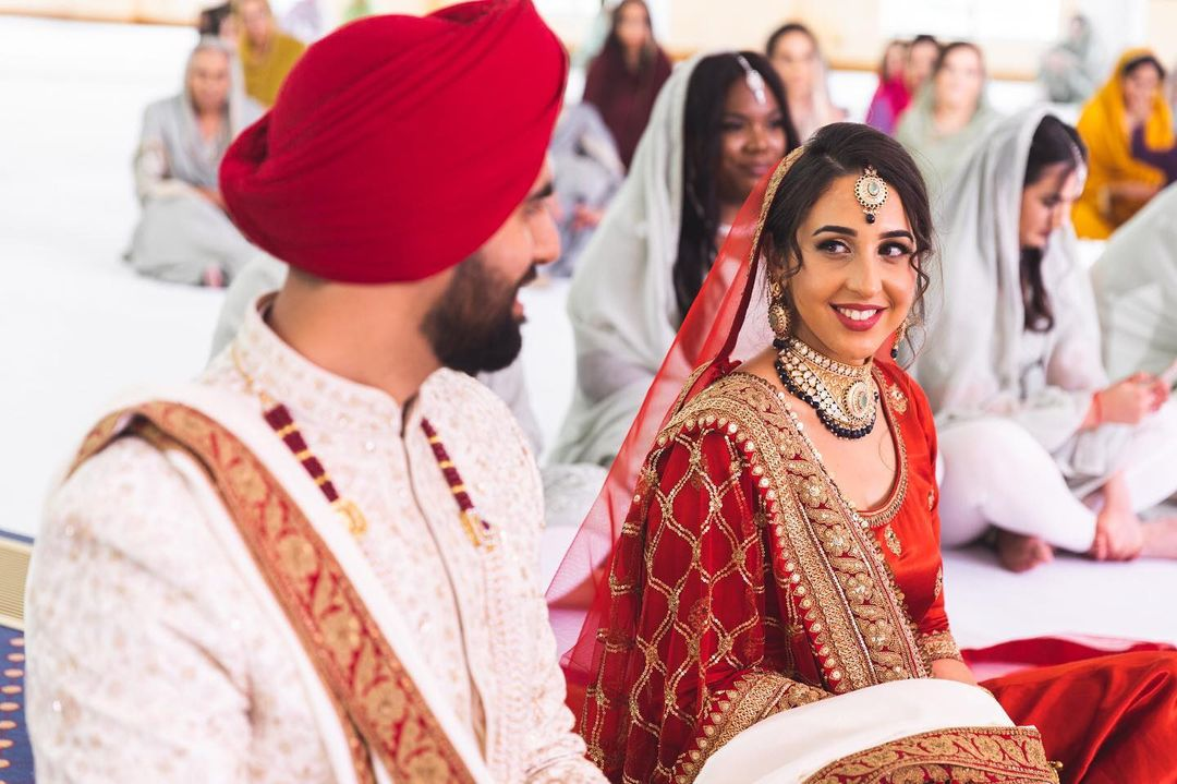 The Bride And Groom's Sikh Wedding