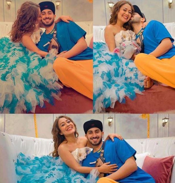 Neha Kakkar With Her Hubby Rohanpreet