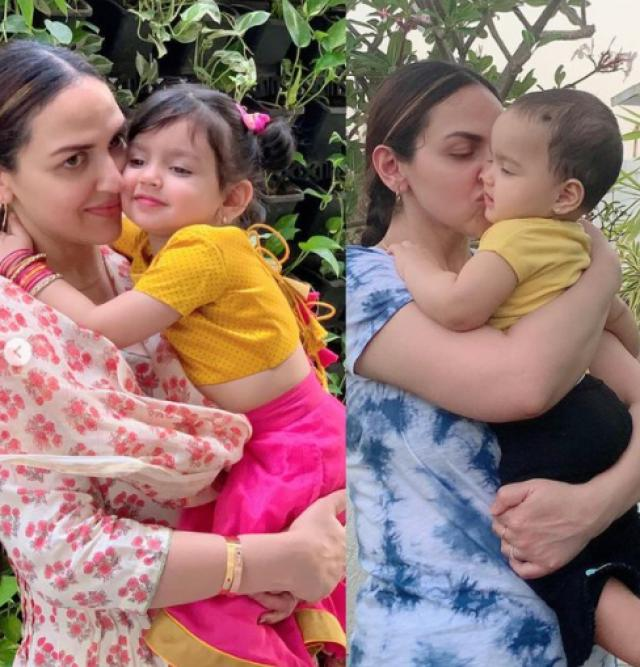 Esha Deol With Her Daughters