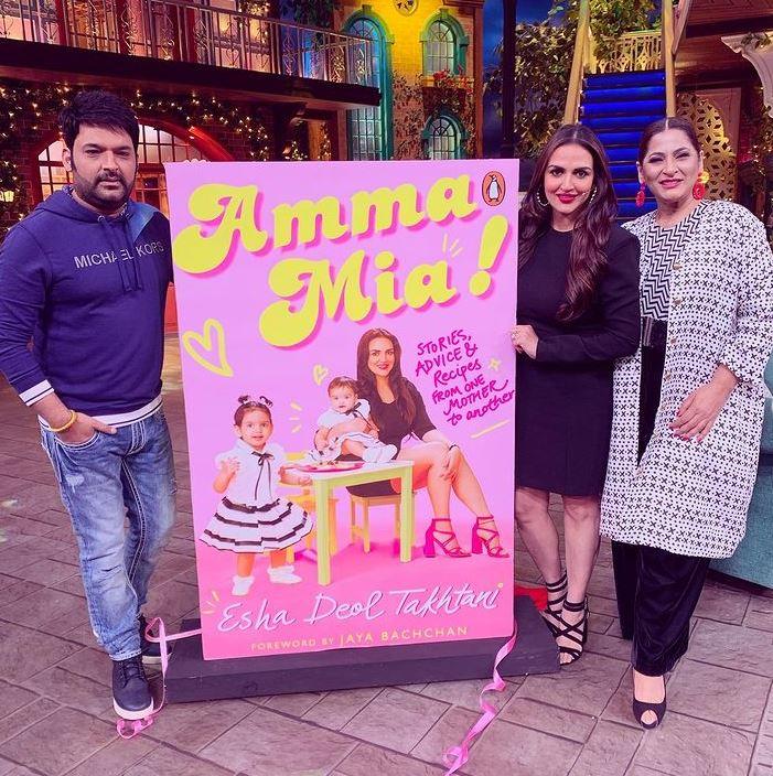 Esha Deol Promoting Her Book On Kapil Sharma Show