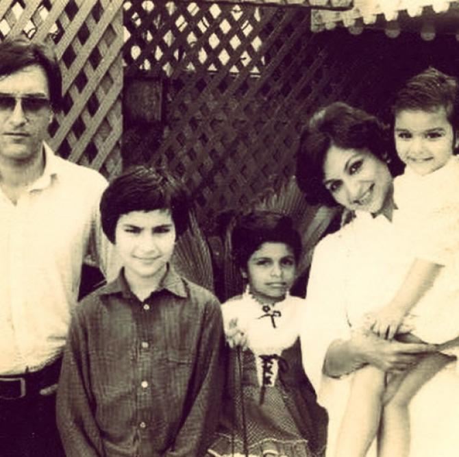mansoor ali khan pataudi family