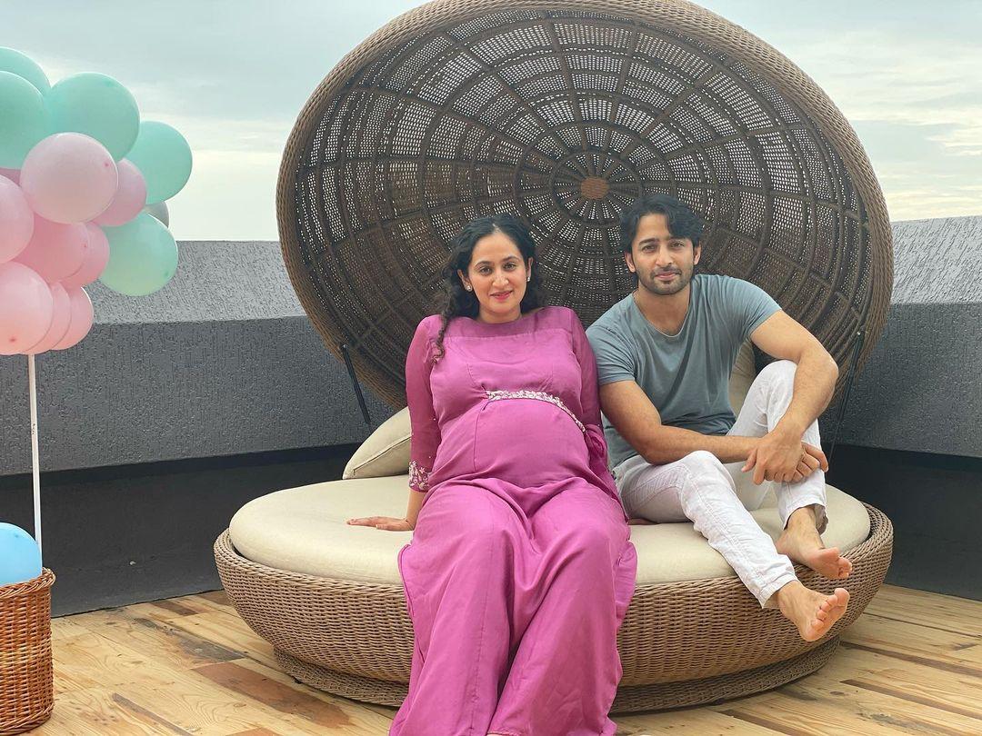 Shaheer Sheikh With His Wife Ruchikaa