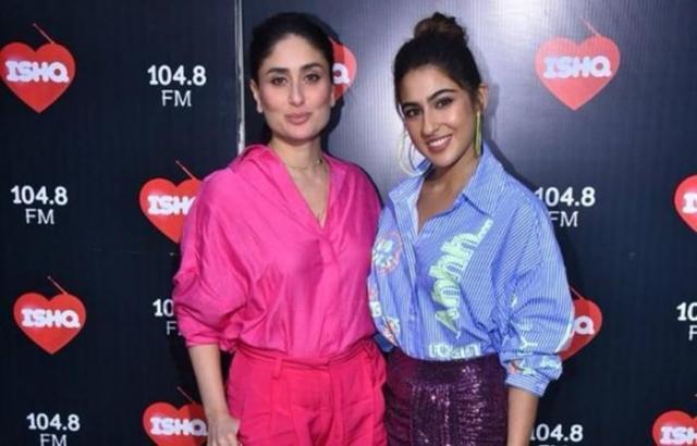 kareena and sara bond