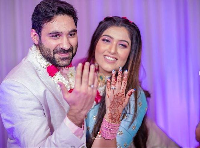 shireen mirza engagement