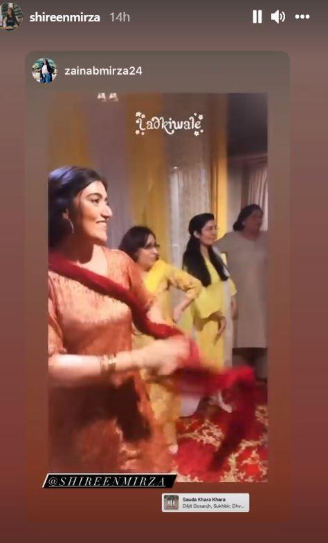 shireen mirza wedding preparations