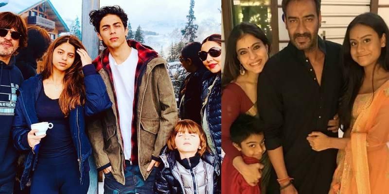 Kajol And Shahrukh Family
