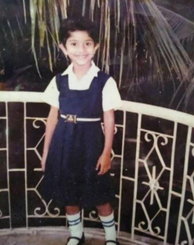 Sai Pallavi's Childhood Photo