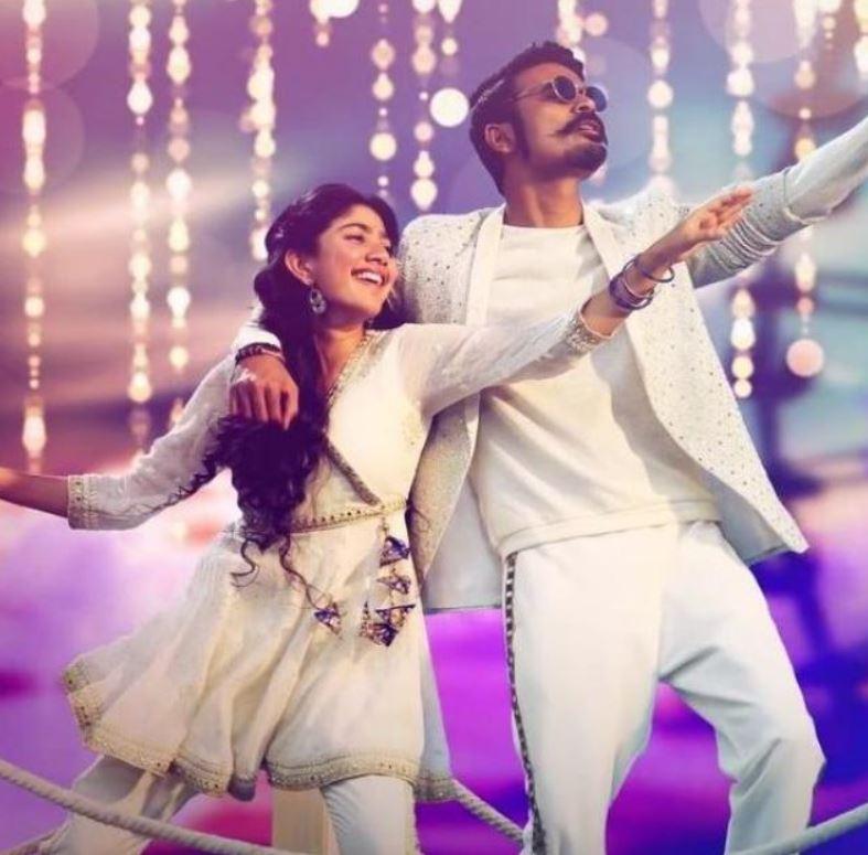 Sai Pallavi's Dance With Dhanush
