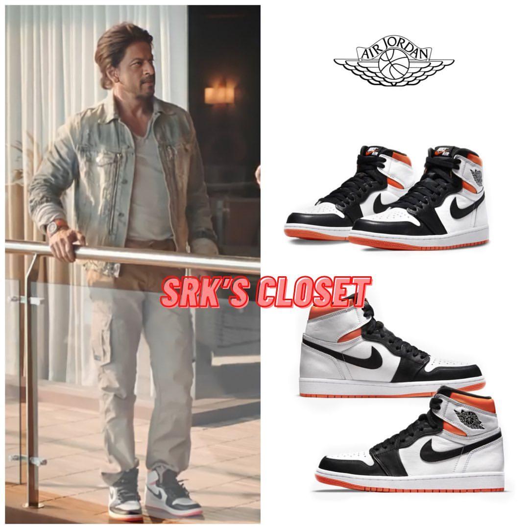 Shahrukh Khan's sneakers