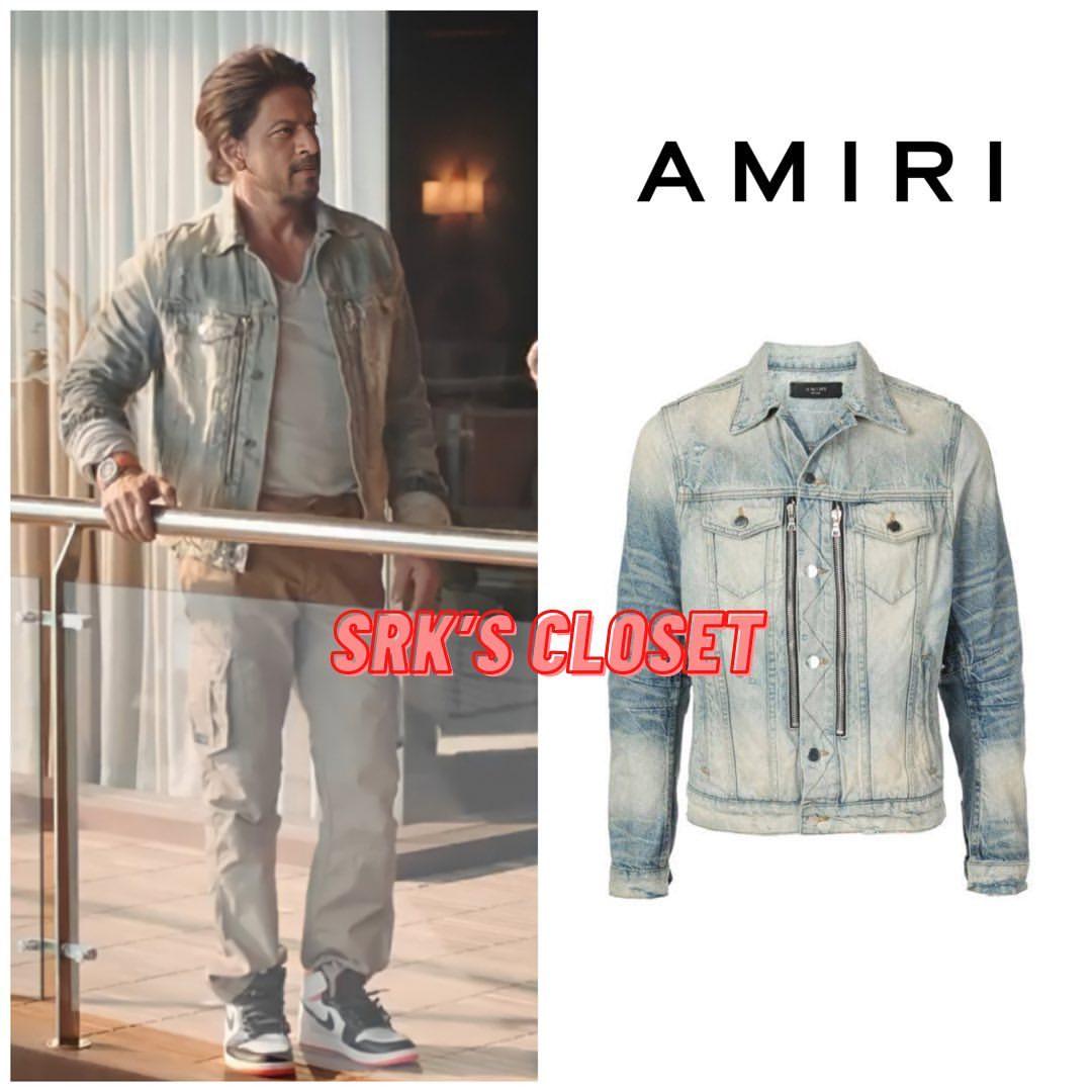 Shahrukh KHan's Denim Jacket