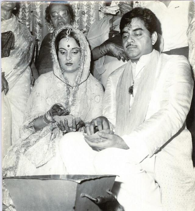Shatrughan Sinha wedding