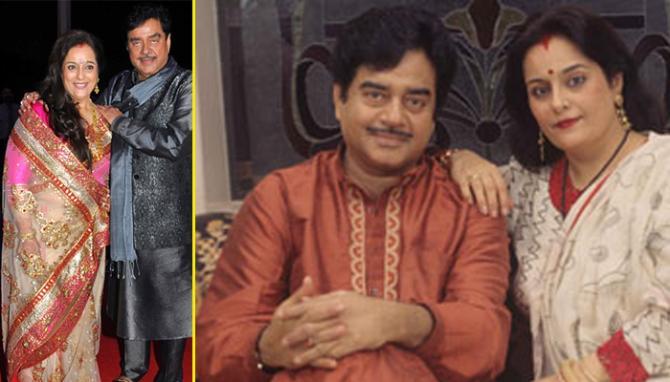 Shatrughan Sinha wife