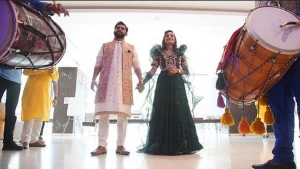 Bride-Groom Mehendi Ceremony