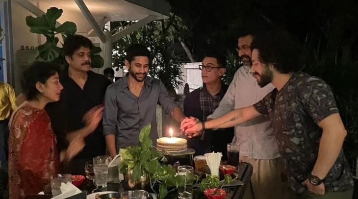 Love Story Success Party At Akkineni House