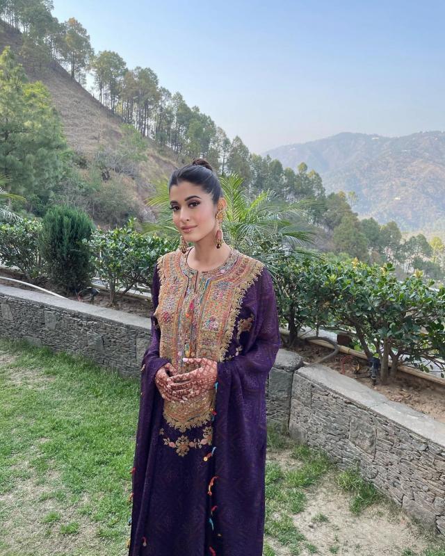 The Bride's Mehendi Ceremony