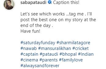 saba ali khan latest post