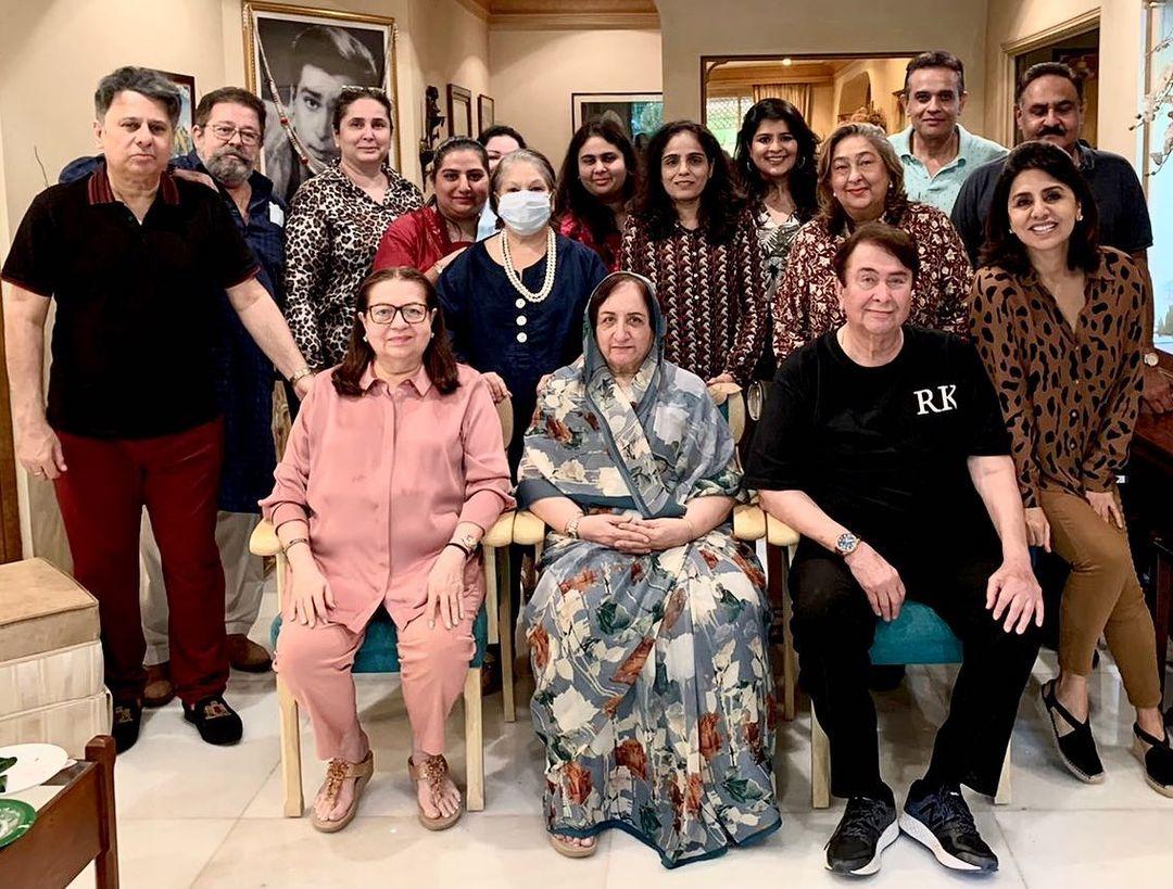 kapoor family photos