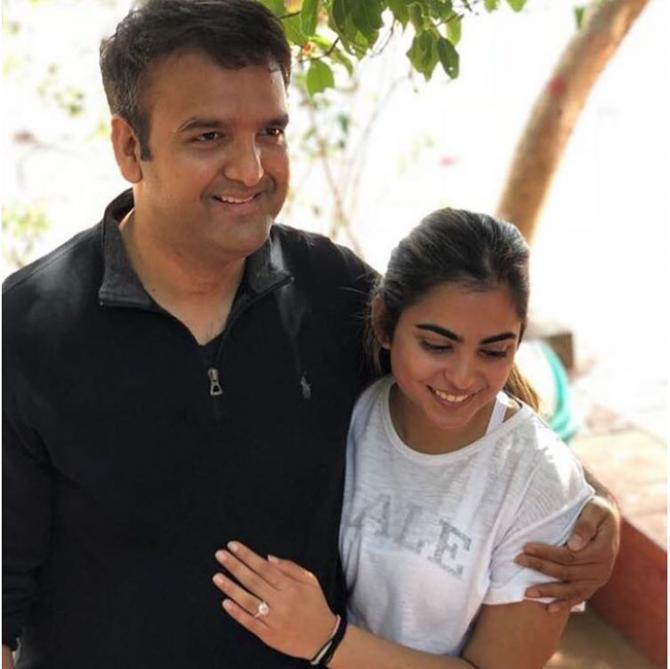 isha ambani with her husband