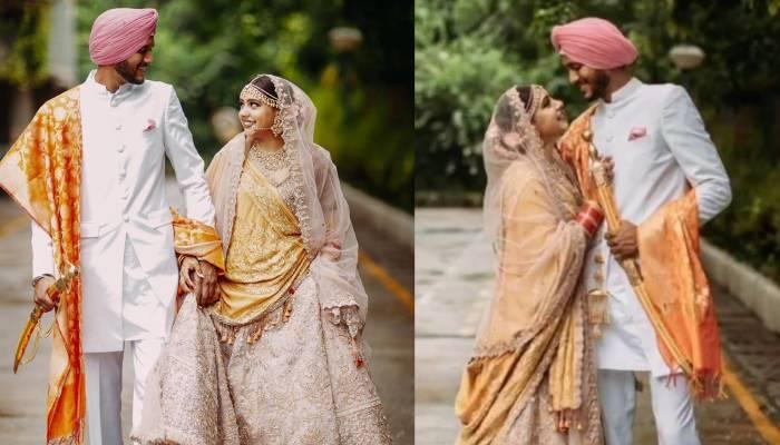टीवी एक्ट्रेस नीति टेलर ने आर्मी ऑफिसर संग रचाई शादी, देखें शादी की अनदेखी तस्वीरें व वीडियो