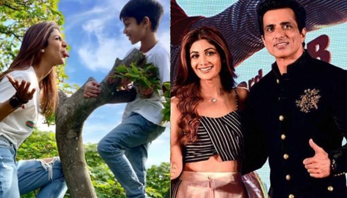 शिल्पा शेट्टी के बेटे वियान ने बनाया सोनू सूद का खास वीडियो, एक्टर ने लिखा- 'आप एक सुपरस्टार हैं'