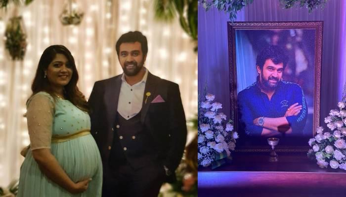 दिवंगत अभिनेता चिरंजीवी सर्जा की पत्नी मेघना राज ने दिया बेटे को जन्म, सामने आई तस्वीर