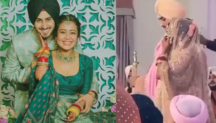 शादी के पवित्र बंधन में बंधे नेहा कक्कड़ व रोहनप्रीत, गुरुद्वारे में हुई शादी का वीडियो आया सामने