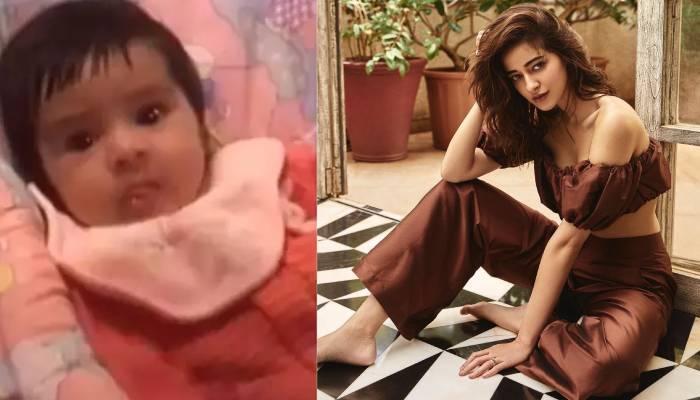 अनन्या पांडे की मम्मी ने शेयर किया बेटी के बचपन का वीडियो, बेहद क्यूट लग रही हैं एक्ट्रेस