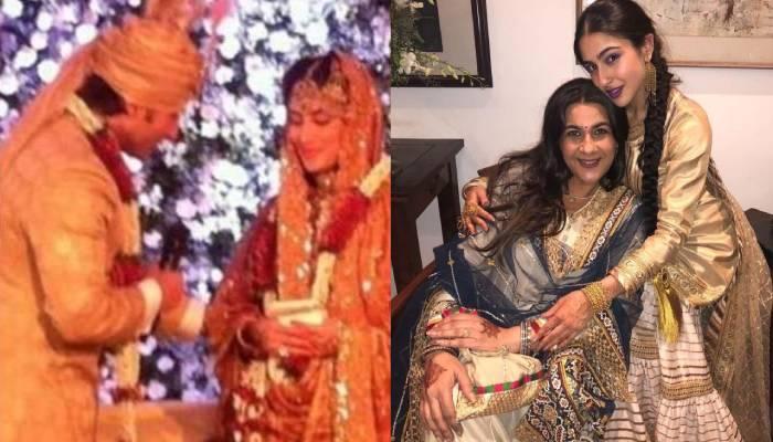 सैफ की शादी के लिए अमृता सिंह ने किया था बेटी सारा को तैयार, बेटे इब्राहिम ने पहनी थी ये खास ड्रेस